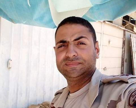 أهالى مركز مشتول السوق شرقية ينتظرون وصول جثمان شهيد العريش احمد محمد غنيمي عمار