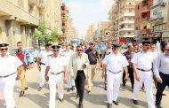 بالصور ..مدير امن الإسماعيلية يترأس حملة مكبرة لأزالة أشغالات حى أول.