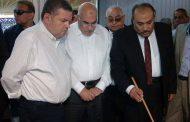 وزير قطاع الأعمال  يتفقد شركة مصر للغزل والنسيج بالمحلة