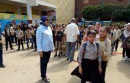جولة هالة الباجورى مدير إدراة غرب المحلة على المدارس