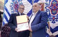 وكيل وزارة الزراعه يشهد احتفالية تكريم الرمادى بادارة سمنود الزراعيه