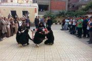 مدارس سمنود تحتفل بانتصارات اكتوبر
