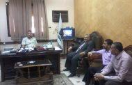 رئيس مدينة أخميم يبحث تعلية مبني إدارة أخميم التعليمية