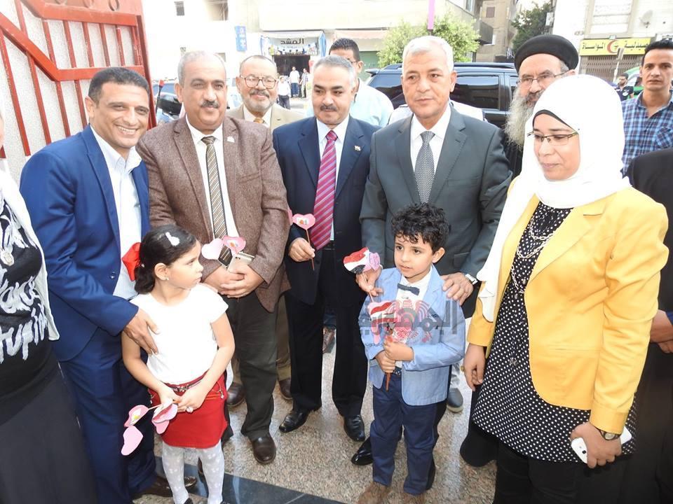 بالصور محافظ المنوفية ووكيل تعليم المنوفية يفتتحان المدرسة المصرية اليابانية اليوم بشبين الكوم