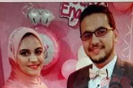 مبروك للعروسين عبد العزيز مغربى و ندى الشامى