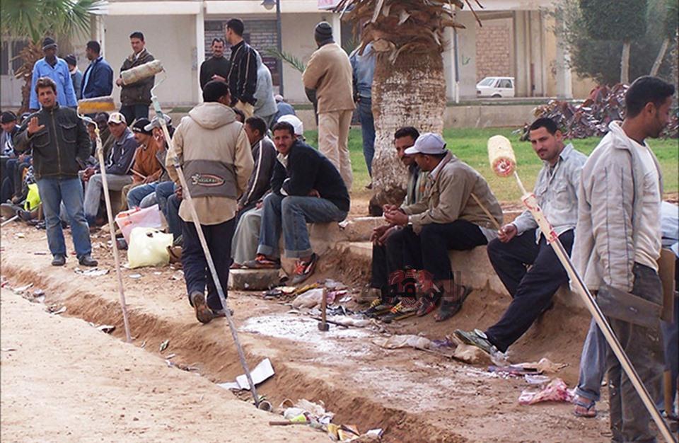 عمال مصريين في ليبيا
