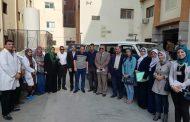 لجنة من الشؤن الصحية لمتابعة الاجهزة بمستشفي سمنود العام - غربية