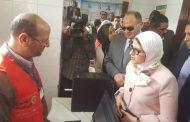 فعاليات زيارة وزيرة الصحة بالفيوم