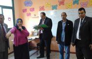 وكيل تعليم بلبيس يتابع مدارس الادارة. كتب احمد عبد الحميد