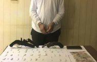 القبض على مسجل خطر وبحوزته سلاح ناري ومخدر الهروين بالغربية