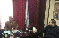المهندس عبد الله احمد يلتقى برئيس منظمه الشعوب والبرلمانات العربيه بمصر
