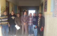 مدير إدارة ابوحماد التعليمية في زيارة عاجلة لمدرسة القطاوية اساسي
