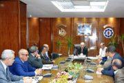 عبد المجيد صقر يلتقي عدد من ممثلي الأحزاب السياسية
