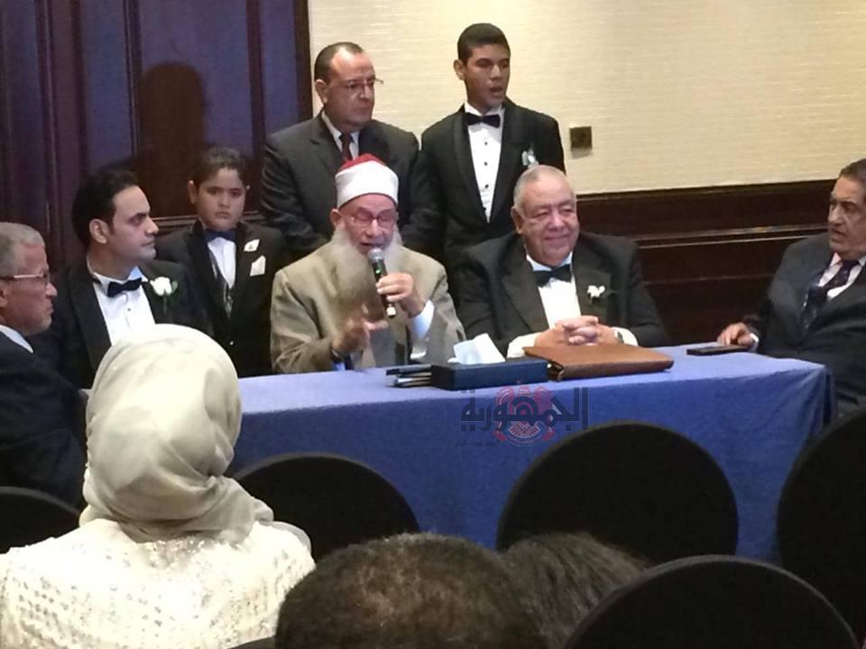 زفاف نجلة الدكتور عادل فهيم بحضور لفيف من القيادات السياسية والرياضيه