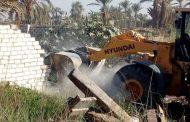 بالصور إزالة 30 حالة تعدٍ علي أرض زراعية بقرية العدوة بالفيوم