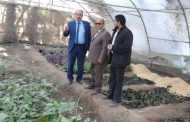 وكيل تعليم بلبيس يزور السلام الثانوية الزراعية.