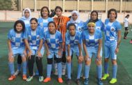20 لاعبة لنسائية صيد المحلة لكرة القدم فى مواجهه وادي دجلة فى الدورى الممتاز