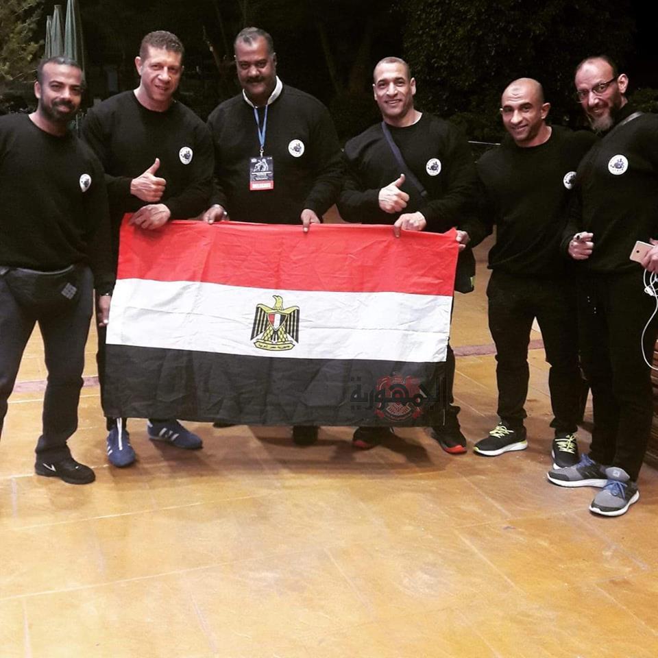مصر تحصد برونزية بطولة العالم في كمال الاجسام والفيزيك للأساتذة في اسبانيا