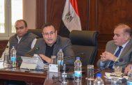 قنصوة يعقد الاجتماع الدوري مع أعضاء مجلس النواب بالاسكندرية