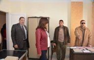محافظ دمياط تواصل زياراتها الميدانية من جديد و تفاجىء مسئولى الوحدة المحلية بقرية جمصة.
