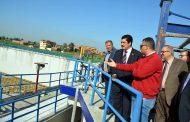 محافظ القليوبية يتفقد عدد من مشروعات المياه والصرف الصحي بشبين القناطر بتكلفة 315 مليون جنيه