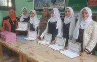فوز مدرسه الشهيد هاشم الرفاعي بالمركز الأول في أوائل الطلبه علي مستوي اداره بلبيس التعليميه