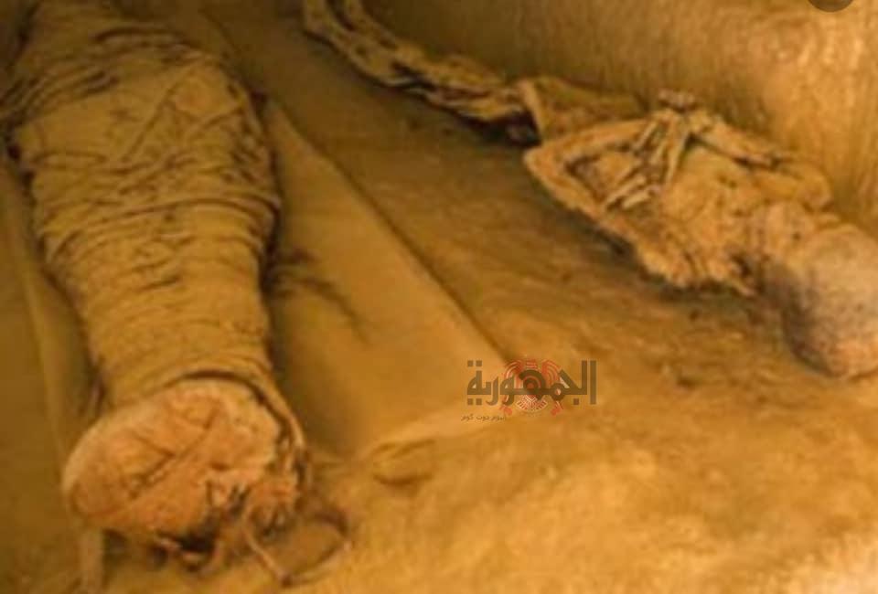 إكتشاف عشرات الهياكل العظمية في مقبرة فرعونية في أسوان