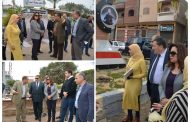 ملخص زيارة محافظ دمياط لمدينتي السرو و الزرقا و قرية كفر المياسرة.