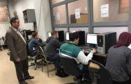 اجراء الامتحان النهائي لطلاب الفرقة الأولي بطب طنطا الكترونياً