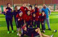 مركز شباب دمرو بطلا لدوري مراكز شباب الغربية في الكرة النسائية