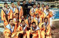 فريق نادي الشمس يحصد المركز الثالث لبطولة الجمهورية لكرة الماء