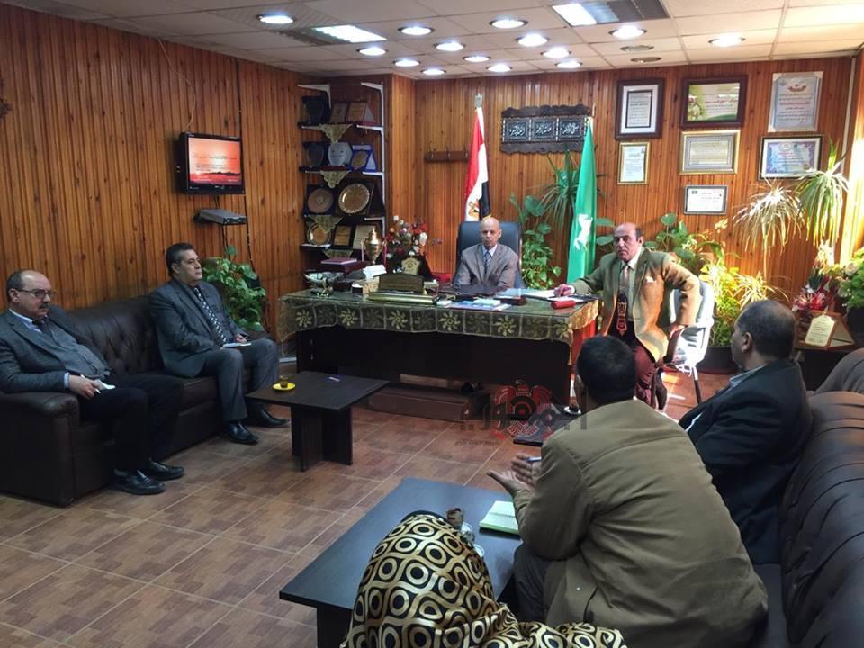 إستمرار الاجتماعات مع مشرفي وزارة الصحة إستعداداً لحملة 100 مليون صحة