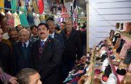 مرزوق والفيومي وحسب الله يفتتحوا معرض حزب الحرية المصري للاسرة بالمؤسسة العمالية بشبرا الخيمة