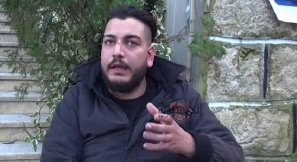 جندي سوري يُخاطب مُشيّعي جنازته مطلاً من نعشه