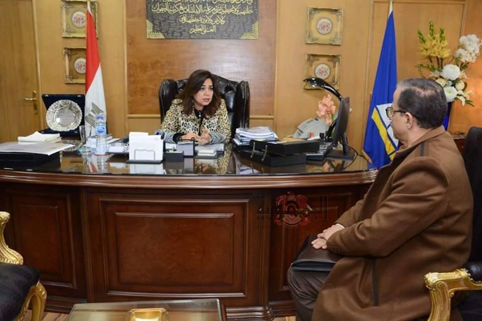 محافظ دمياط تستقبل الدكتور جمال عبد الغني وكيل وزارة الصحة الجديد