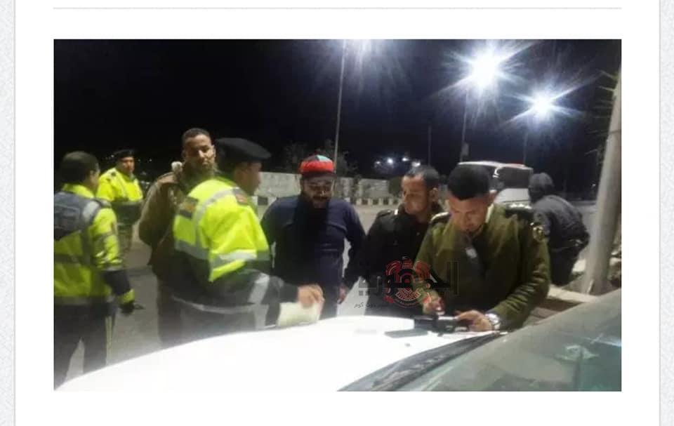 ضابط مرور'' يضبط سيارة مبلع عن سرقتها ببلبيس شرقية