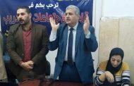 قاعود يجتمع بالاطباء والتمريض لانطلاق الحملة القومية للتطعيم ضد شلل الأطفال