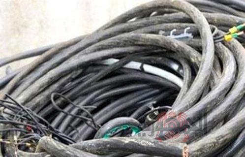 ضبط مرتكبى واقعة سرقة كمية من الكابلات الكهربائية بصان الحجر شرقية