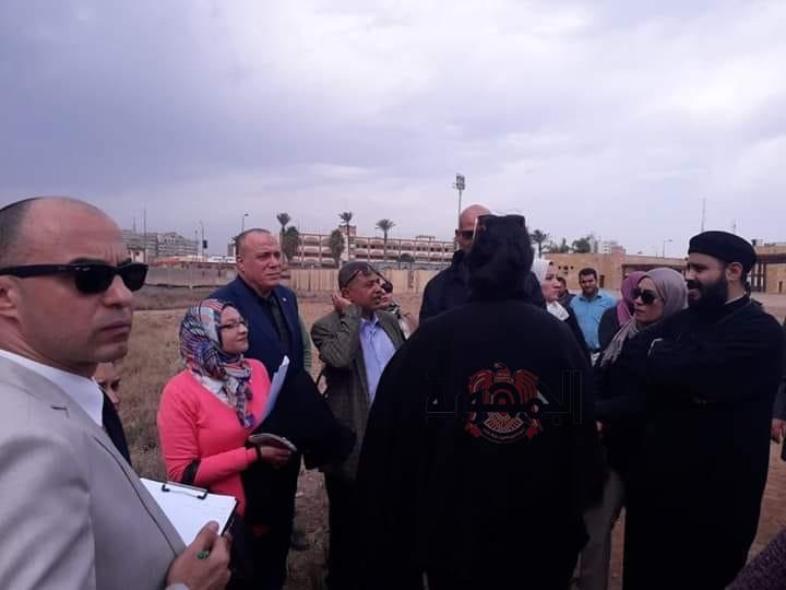 آثار تل بسطه بالشرقية تستقبل وفدا من منظمة اليونيسيف