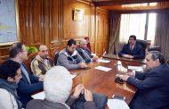 محافظ القليوبية يتابع استكمال اجراءات التقنين في تبسيط إجراءات تقنين أراضي أملاك الدولة