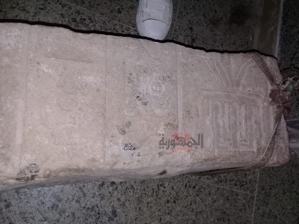 اكتشاف اثري بقرية برنبال مركز مطوبس يحمل عبق التاريخ وامجاد الماضي