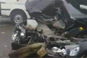 اصابه شخصين في حادث تصادم سيارة ملاكى ودراجتين ناريتين بالمحلة الكبرى . الجمهورية اليوم دوت كوم