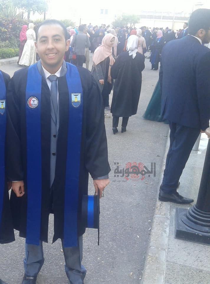 تهنئه للدكتور بيشوي فريد نجيب بتخرجه اليوم من كليه طب الاسكندريه