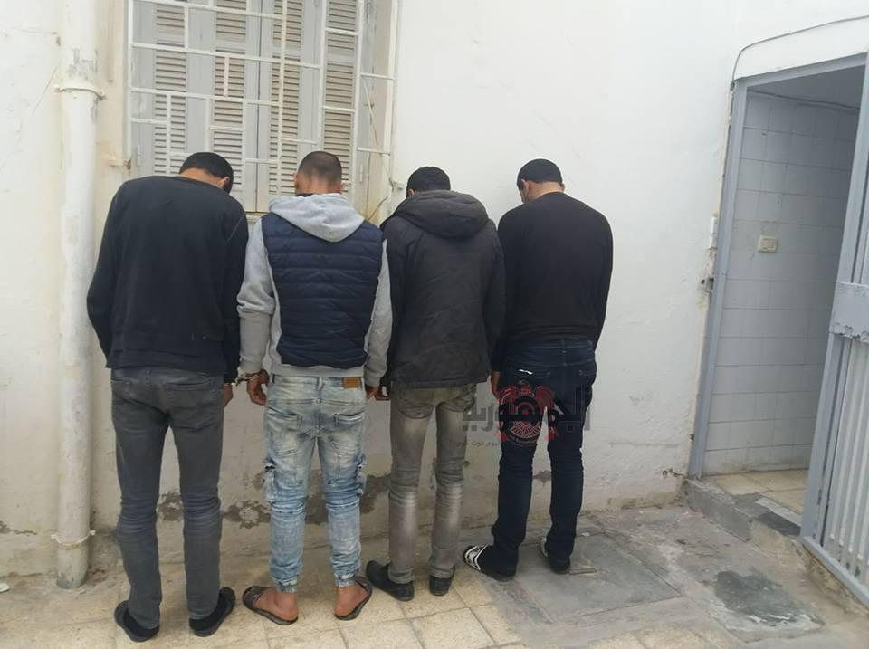 سقوط تجار مخدرات مرسى مطروح بحوزتهم