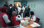 جوله لوكيل وزارة الصحة بالشرقية لمتابعة حملة مليون صحة في مستشفى فاقوس المركزي