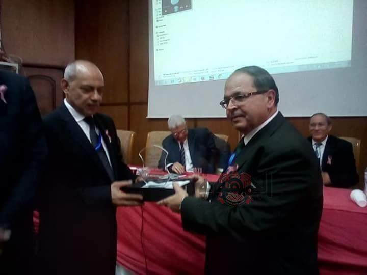 حضور وكيل وزارة الصحة بالمنوفية المؤتمر الأول لقسم الأورام بمستشفى منوف العام