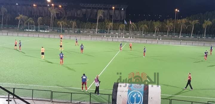 هوكي الشرقية رجال يتصدر بطولة الدوري بعد الفوز علي سموحة