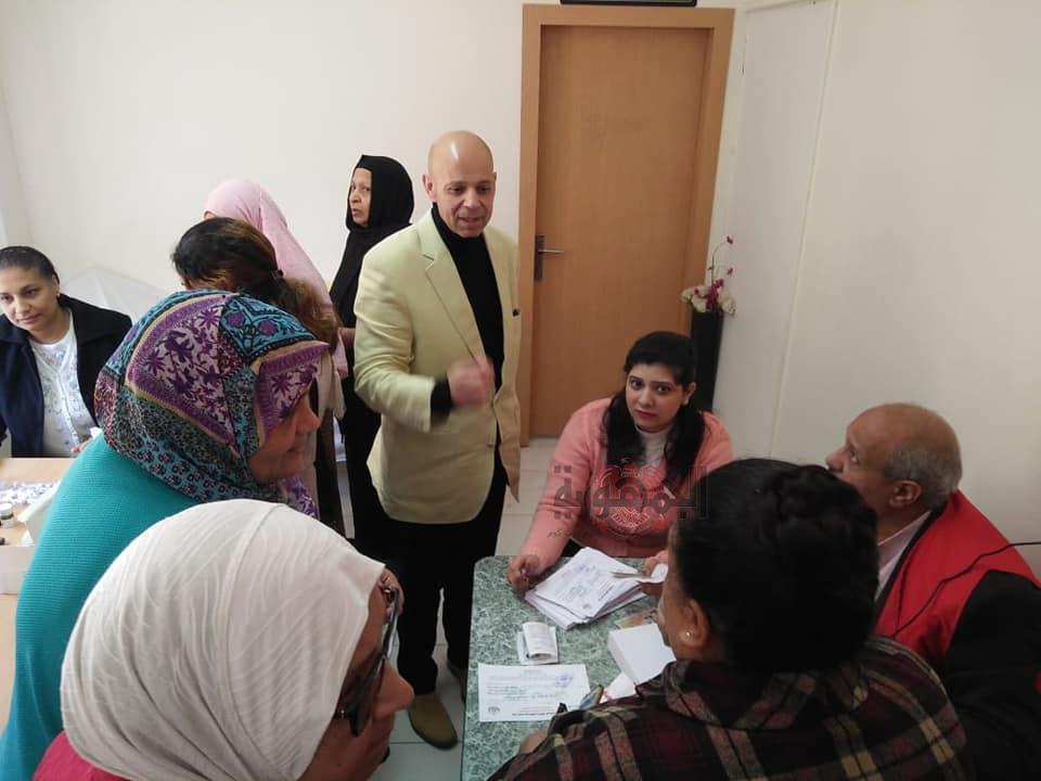 شوقي:يزور مستشفي العاشر من رمضان لمتابعة حملة ١٠٠ مليون صحة....بالشرقية