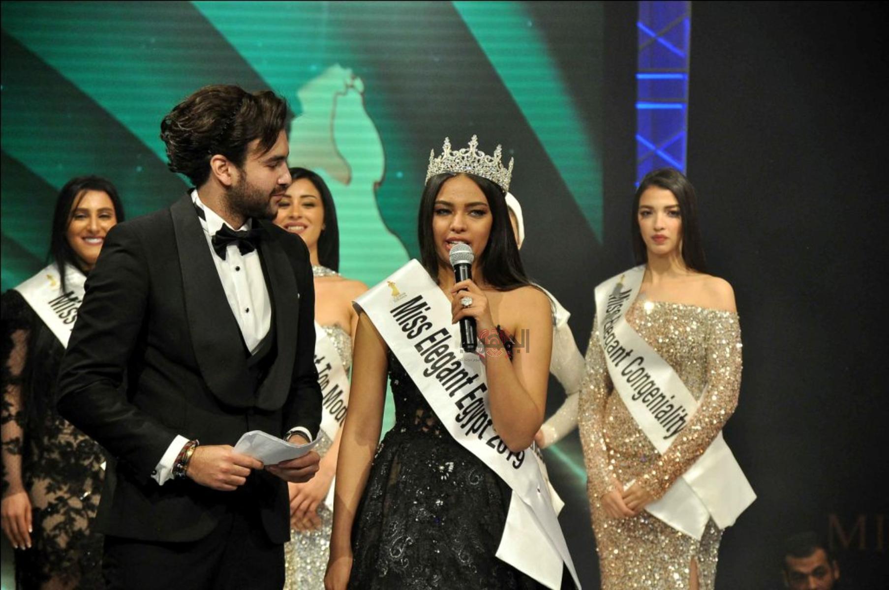 كريم أسامة يبهر الجمهور بأدائه فى حفل تتويج ملكة جمال الأناقة ٢٠١٩
