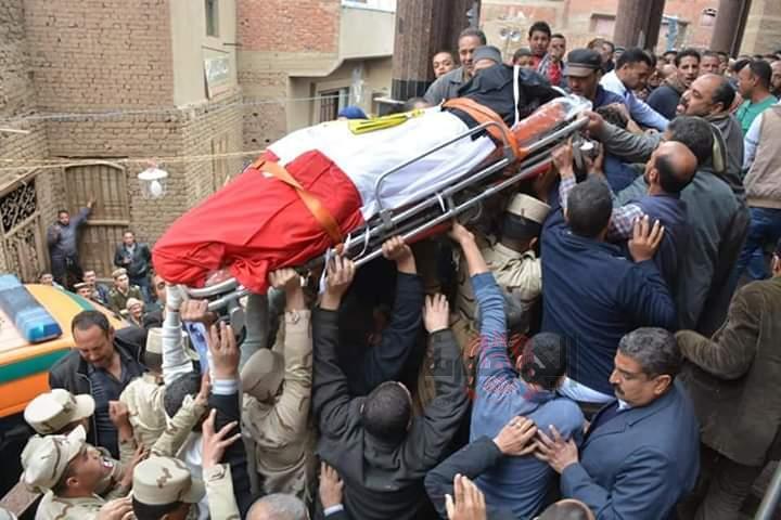 شاروبيم في جنازة شهيد الدقهلية دماء الشهداء لن تذهب هدرا